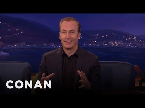 Bob Odenkirk Learned The Intricate Secrets Of Cinnabon  - CONAN on TBS