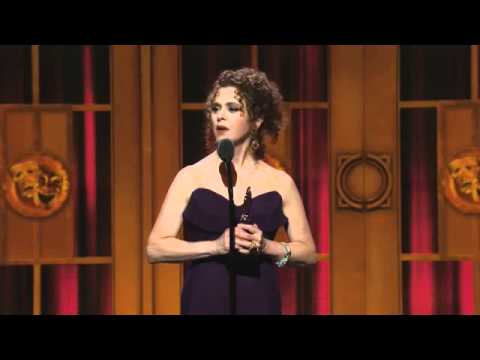 Acceptance Speech: Bernadette Peters (2012)