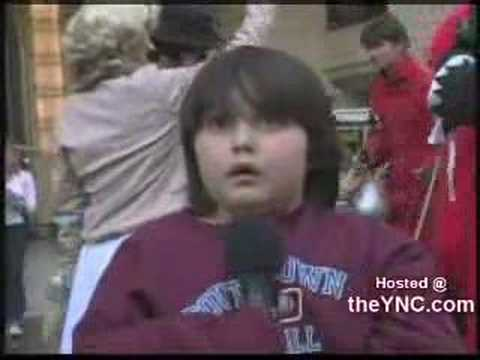 Fright - This kid gets the worst case of stage fright ever. You gotta love him.