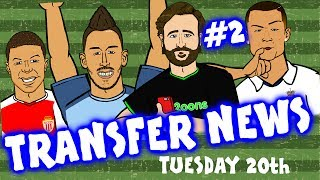 New series! Get the daily transfer gossip in one minute! Download the Onefootball app: http://bit.do/442oons_JuneYT #ad #3 out...