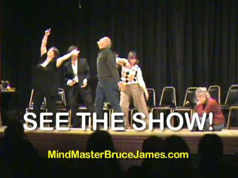 Bruce James Professional Stage Hypnotist Comedy Show