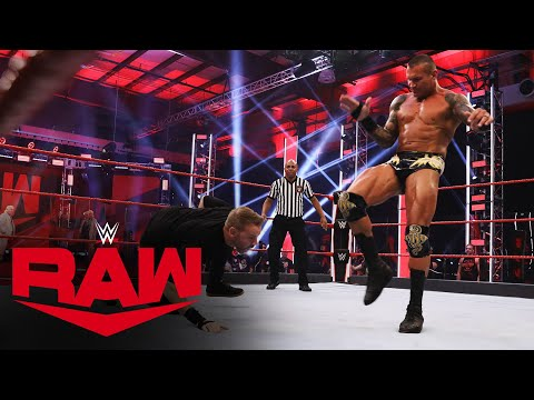 Christian vs. Randy Orton – Unsanctioned Match: Raw, June 15, 2020