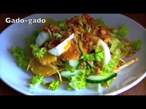 Gado-gado - Indonesian Salad with Peanut Dressing - Norma's Kitchen