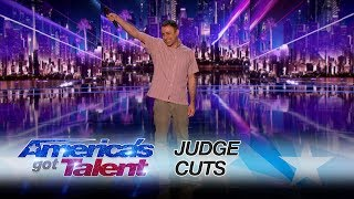"From his mom's house to the AGT stage, this performer has a polarizing outcome on the AGT stage. Good job!» Get The America's Got Talent App: http://bit.ly/AGTApp» Subscribe for More: http://bit.ly/AGTSub» Watch America's Got Talent Tuesdays 8/7c on NBC!» Watch Full Episodes Free: http://bit.ly/AGTFullEpisodes» See Howie Join a Dance Troupe!: http://bit.ly/2r6yU0yAMERICA'S GOT TALENT ON SOCIALLike AGT: https://www.facebook.com/agtFollow AGT: https://twitter.com/agtAGT Tumblr: http://nbcagt.tumblr.com/AGT Instagram: http://instagram.com/agtIn season 12, NBC's America's Got Talent follows Simon Cowell, Heidi Klum, Mel B and Howie Mandel in their talent search, showcasing unique performers from across the country. Find America's Got Talent trailers, full episode highlights, previews, promos, clips, and digital exclusives here. NBC ON SOCIALLike NBC: http://Facebook.com/NBCFollow NBC: http://Twitter.com/NBCNBC Tumblr: http://NBCtv.tumblr.com/NBC Pinterest: http://Pinterest.com/NBCtv/NBC Google+: https://plus.google.com/+NBCYouTube: http://www.youtube.com/nbcNBC Instagram: http://instagram.com/nbcABOUT AMERICA'S GOT TALENTWith the talent search open to acts of all ages, ""America's Got Talent"" has brought the variety format back to the forefront of American culture by showcasing unique performers from across the country. The series is a true celebration of the American spirit, featuring a colorful array of singers, dancers, comedians, contortionists, impressionists, jugglers, magicians, ventriloquists and hopeful stars, all vying for their chance to win America's hearts and the $1 million prize.Eric Jennifer: Make Some Noise for this Hilarious Performance - America's Got Talent 2017https://youtu.be/C247CdntwrEAmerica's Got Talenthttp://www.youtube.com/user/americasgottalent"