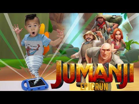 JUMANJI EPIC RUN Gameplay | Jumanji In Real Life the Next Level | Mobile Games | Kaven App Review