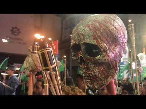Черепа и флаги: шествие черкесов в Стамбуле