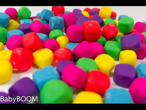 Play-Doh colors lern in play video for kids #Lern colours (видео)