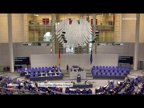 92. Sitzung des Deutschen Bundestages, u.a. zu den EU-Beitrittsverhandlungen mit der Türkei