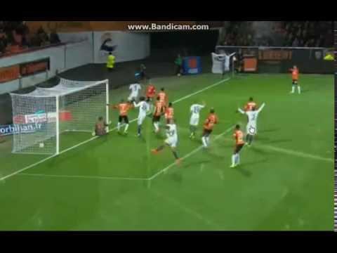 Lorient : PSG / GOAL - Cavani - 0:1