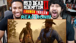 RED DEAD REDEMPTION 2 - Launch TRAILER - REACTION!!! by The Reel Rejects