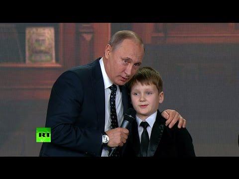 Владимир Путин пообщался с юными географами-вундеркиндами (видео)