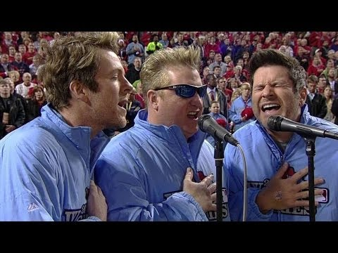 Rascal - 10/27/13: The Rascal Flatts perform the national anthem prior to the start of Game 4 of the World Series Check out http://MLB.com/video for more! About MLB.c...