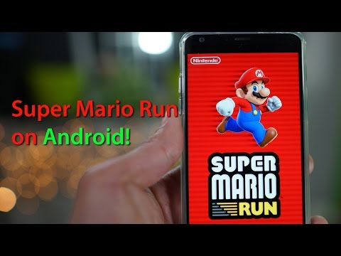 super mario run - android gameplay