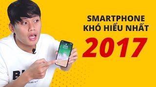 Smartphone KHÓ HIỂU nhất 2017??! - iPHONE X
