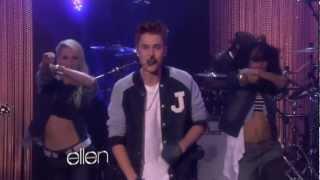 Justin Bieber Performs Boyfriend at The Ellen DeGeneres Show