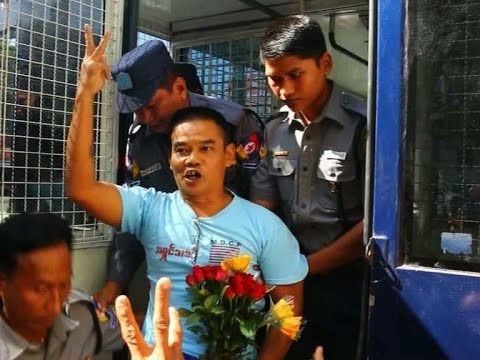 Activist to serve over 13 years behind bars