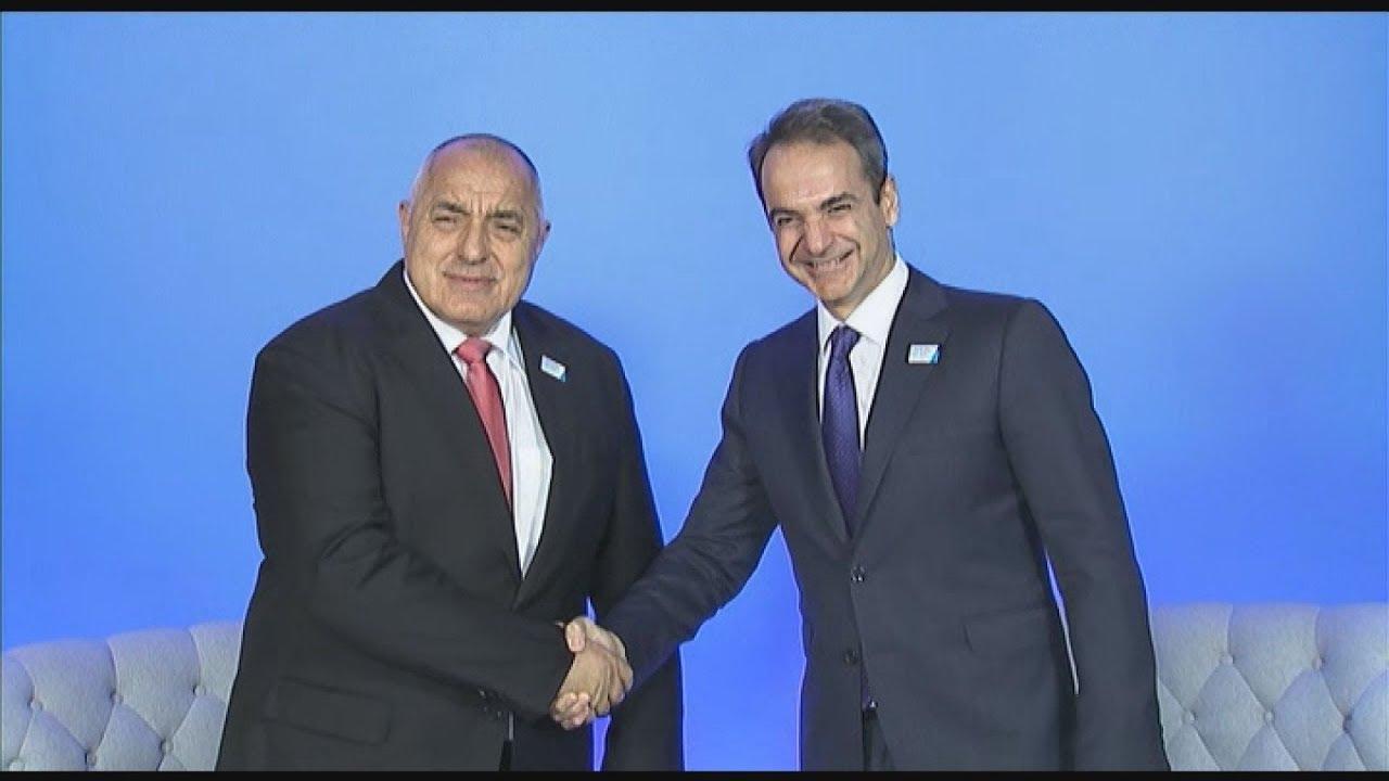 Ανώτατο Συμβούλιο Συνεργασίας Ελλάδας- Βουλγαρίας με συμμετοχή Μητσοτάκη-Μπορίσοφ