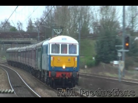 British Railways Engineering from the Northwest 2012
