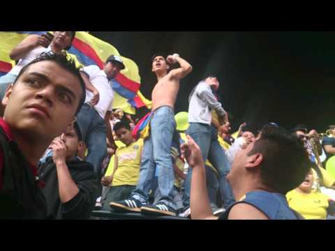 Llegada del ritual del kaoz al América Vs pumas - Ritual Del Kaoz - América