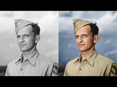 Colorize a Black and White Photo in Photoshop
