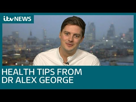 Dr Alex George Gives His Top Health Tips | ITV News