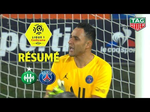 AS Saint-Etienne - Paris Saint-Germain ( 0-4 ) - Résumé - (ASSE - PARIS) / 2019-20