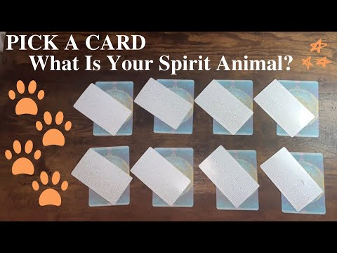 PICK A CARD 🔮 WHAT IS YOUR SPIRIT ANIMAL? 🐾  Messages From Your Animal Spirit Guide 🦁🐰🐸🦋🐯
