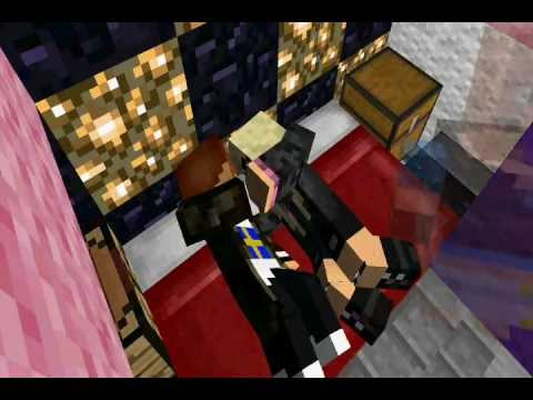 Sex in the hotel (minecraft animation)
