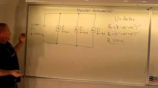Beregning af modstande i parallel