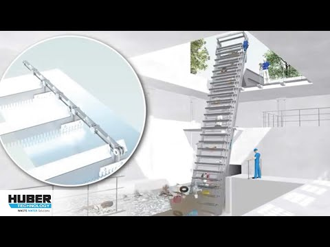 Animation: HUBER Multi-Rake Bar Screen VersaMax®
