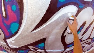 Graffiti - Rake43 - Silver on the Street