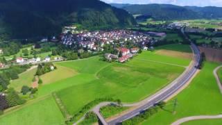 Gutach im Breisgau Germany  City new picture : Gutach im Breisgau von oben - 4K