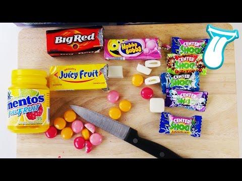 EXTREM SAUERE CENTER SHOCKS & SCHARFE BIG RED KAUGUMMIS - Verrückte Kaugummis im Süßigkeiten test