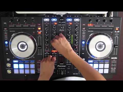 DJ Ravine's Christmas Mix 2012 on a Pioneer DDJ-SX (Electro Hardstyle Dubstep Hardcore)