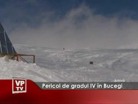 Pericol de gradul IV în Bucegi