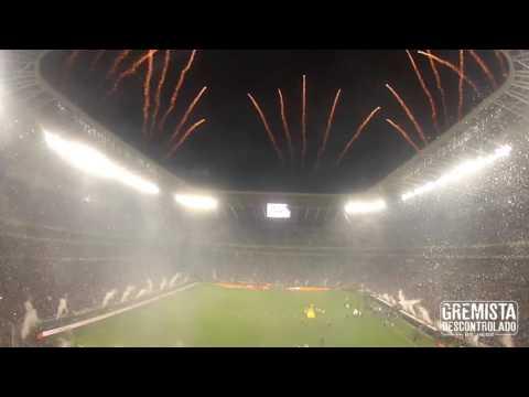 Fim de jogo - Pentacampeão - FINAL DA COPA DO BRASIL - Geral do Grêmio - Grêmio