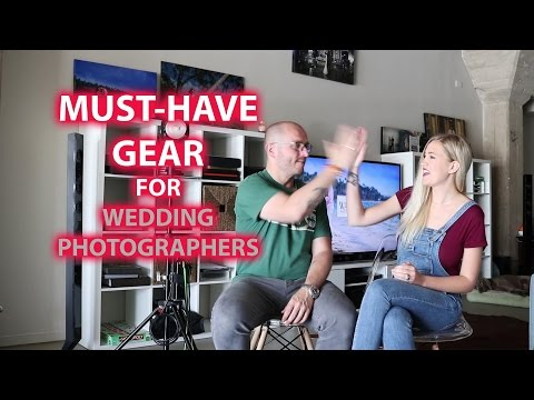 Must Have Gear For Wedding Photographers (видео)