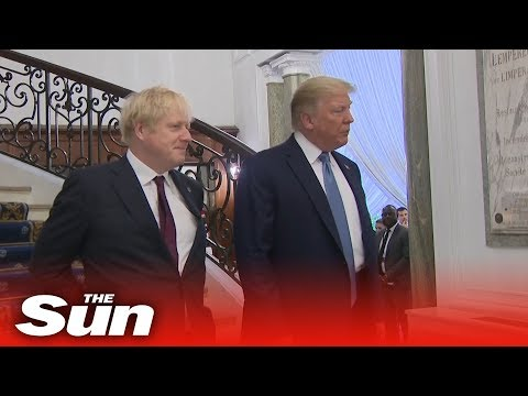 Trump tells Boris Johnson he wants 39a very big trade deal39 with the UK