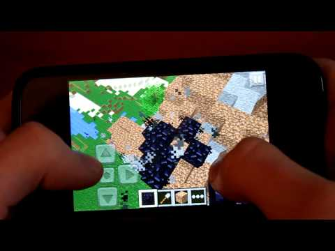 Lava Glitch: Minecraft Pocket Edition v0.3.0