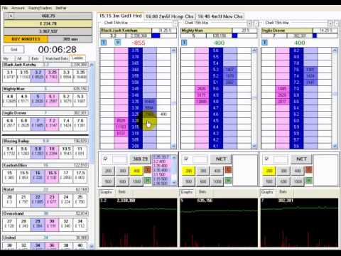 Adam Todd Horse Racing Trading Video 5
