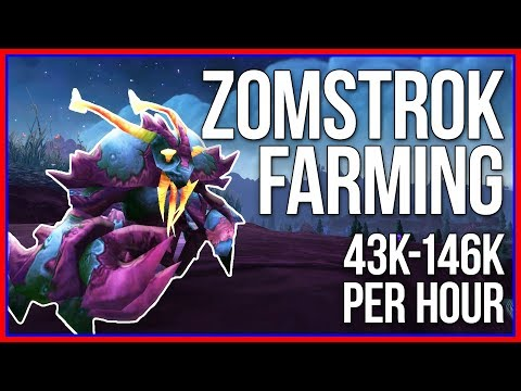 Zomstrok Farming - 75k With WoD Battle Pets (WoW Gold Guide)