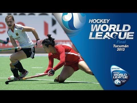 Germany vs Korea - Women's Women Hockey World League Final Argentina [01/12/13]
