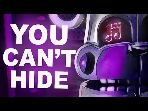 "Fnaf Sister Location Song | ""you Can't Hide"" By Ck9c [official Sfm]"
