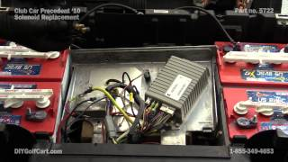 3. Club Car Precedent 48 Volt Solenoid | How to Replace on Golf Cart