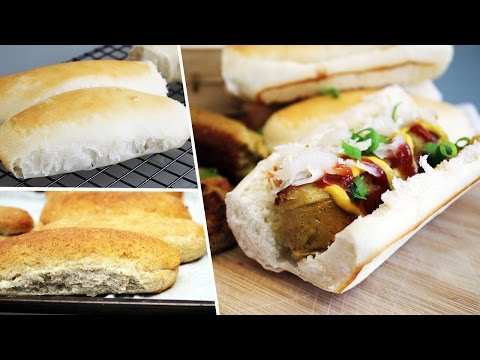 Simple Homemade Hot Dog Buns | Recipe by Mary's Test Kitchen