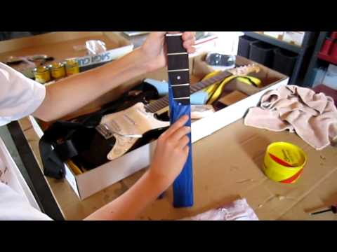 Electric Guitar Kit Assembly
