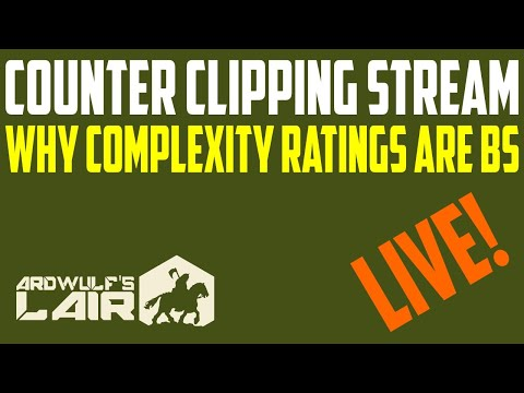 Counter Clipping Stream: Wargame Complexity Ratings: Useful or Complete BS?
