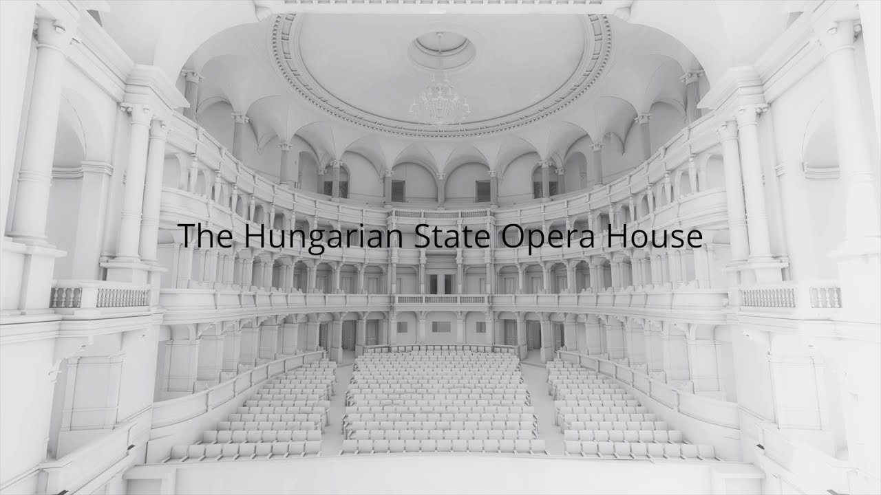 The Hungarian State Opera's survey model shown in BIMx Lab | Model: ©CÉH, Presentation video: ©GRAPHISOFT