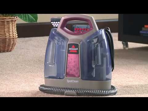 Product Demonstration - SpotClean Portable Deep Cleaner