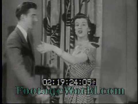 Dancing Dos & Don'ts 1950